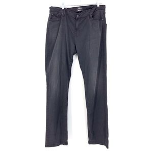 7 For All Mankind Sz 40 X 33 Slimmy Straight Jeans